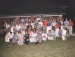 All who attended the first Big Chill in Hickory NC in summer 1989 hosted by George and Carolyn Moretz.