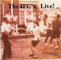 IFC's at Sig Ep house   circa 1963  Band L-R: Bill Thorn, Wayne Lanier, Richard Stroud,Larry Nixon (singing),Gray Steif