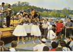 1964 Kidd Brewer Hill bandstand....can you spot CR Duncan, Bob Stallings and Dale?